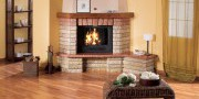 Stone - Rustic fireplaces