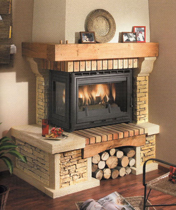 Stone Rustic Fireplaces Kampourakis Marbles S A