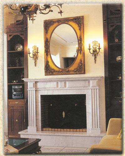 Classical Fireplaces Kampourakis Marbles S A